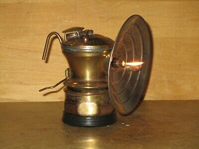 Miners AUTO-LITE CARBIDE LAMP -PERFECT!!