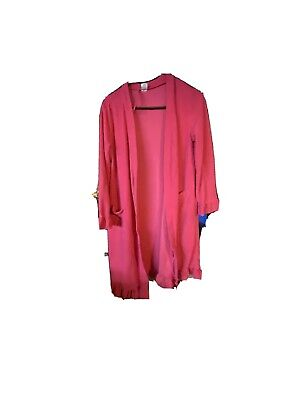 Womens ULTA Pink XS Robe * See Picture Some Stains