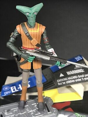 Star Wars The Clone Wars El-Les Bounty Hunter CW47 action Figure
