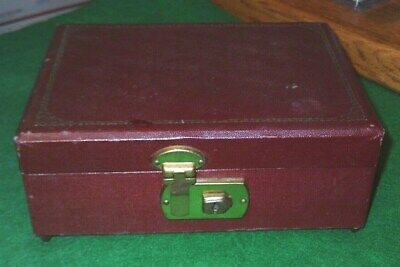 Vintage Jewelry Box with Wind Up Music