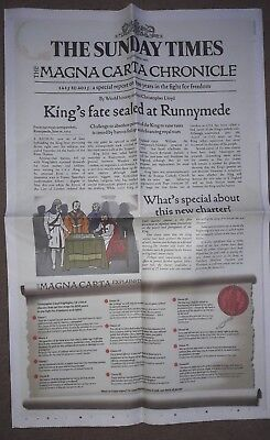 the times - magna carta chronicle