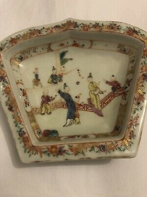 Antique Chinese Porcelain Plate Vintage Asian Old China
