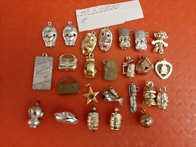 Vintage Gumball/Vending Charms Lot Of 25