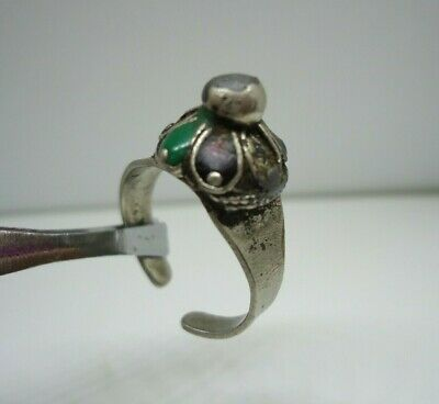 Ancient Rare Ring Roman Silver Color legionary Old Extremely Old Museum Artifact