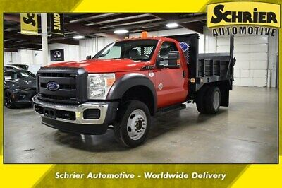 2016 Ford F-550 XL 2016 Ford F-550SD XL 44,922 Miles Race Red 2D Standard Cab Power Stroke 6.7L V8