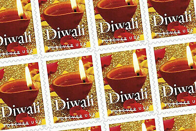 US 5142 5 Panes OF 20 DIWALI 100 FOREVER STAMPS MNH 2016