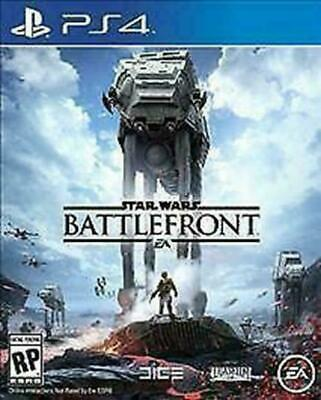 Star Wars: Battlefront (Sony PlayStation 4, 2015) DISC IS MINT
