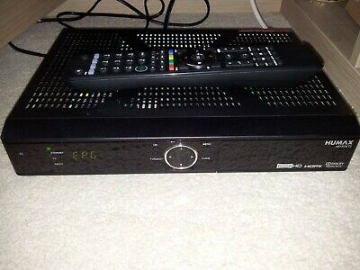 Humax HD-Fox T2  Freeview HD Receiver With Remote Control