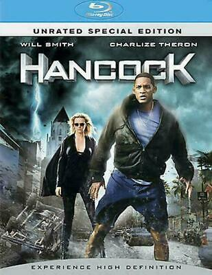 Hancock (Blu-ray Disc, 2008, 2-Disc Set, Unrated Special Edition) BRAND NEW