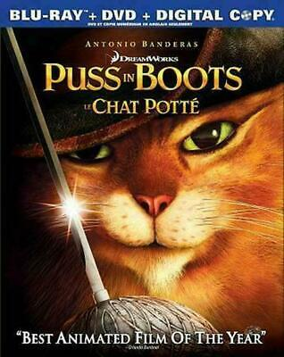 Puss in Boots (Blu-ray ONLY) DISC IS MINT