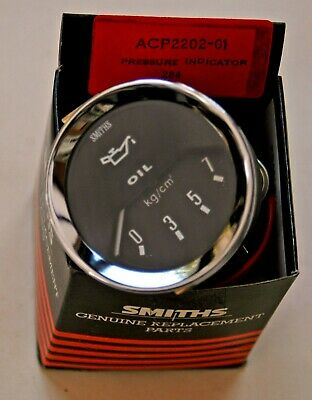 Smiths new Classic style Electric Oil Pressure Gauge 0-7 kg/cm2