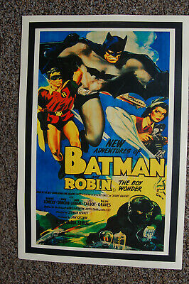 The New Adventures of Batman and Robin Movie poster Lobby Card #2 Robert Lowery