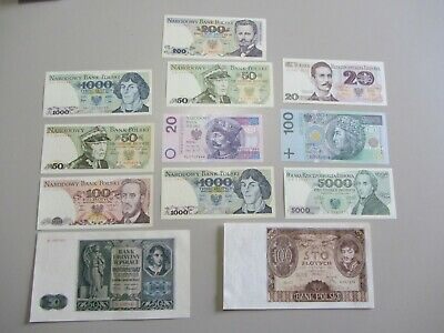 Polish Currency Set