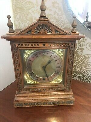 Antique Walnut Bracket Clock