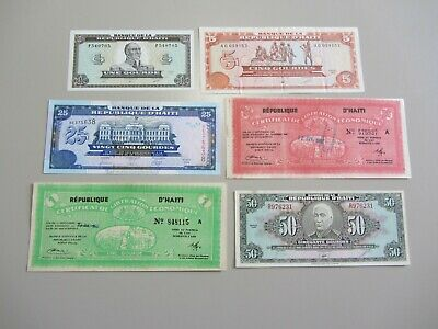 Haiti Currency Set