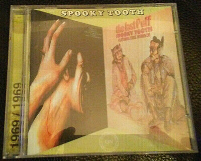 SPOOKY TOOTH - Ceremony with PIERRE HENRY & Last Puff, 2 albums in 1 CD