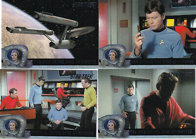 Star Trek TOS Archives Inscriptions  The City on the Edge of Forever 44-Card Set