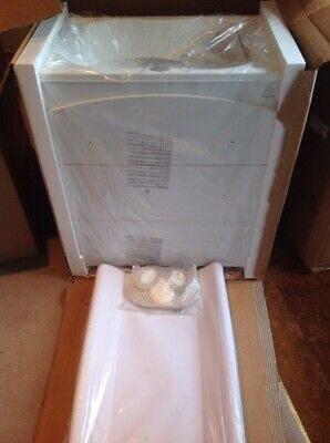 Italbaby Baby Bath With 3 Drawers And Changing Mat. New