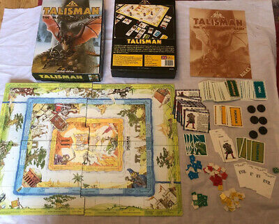 Talisman The Magical Quest Game - 2nd Edition - Games Workshop
