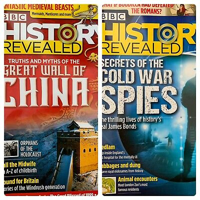 2X BBC History Revealed 2020 Great Wall Of China Cold War Spies