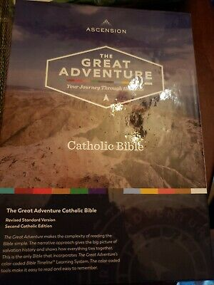 Ascension The Great Adventure Your Journey Through The Bible Catholic Bible....