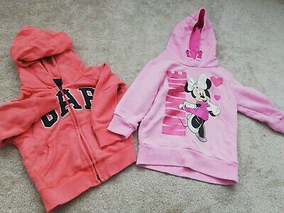 Girls 18 Months - 3 Years Hoody Bundle Minnie Mouse & Gap