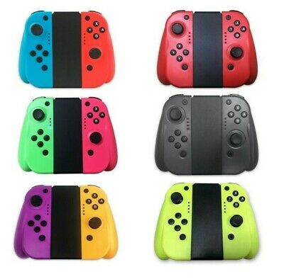 For Nintendo Switch Joy-Con (L/R) Wireless Bluetooth Controller Set With Grip