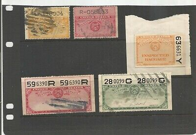 Us Customs Revenue Stamp Collection