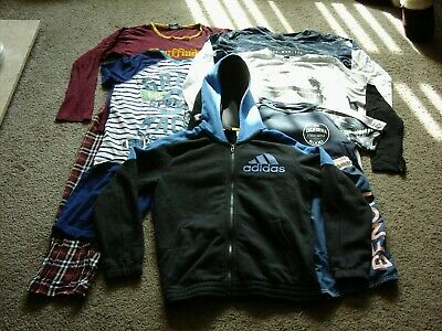 Job Lot Bundle Boys Clothes 11 To 12 Years Adidas Bench Star Wars Harry Potter