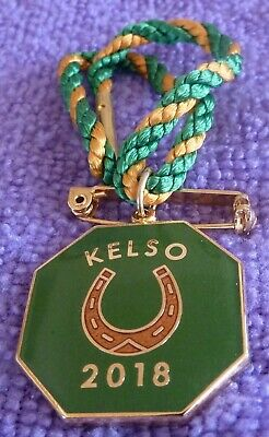2018. KELSO. Annual Member Badge.