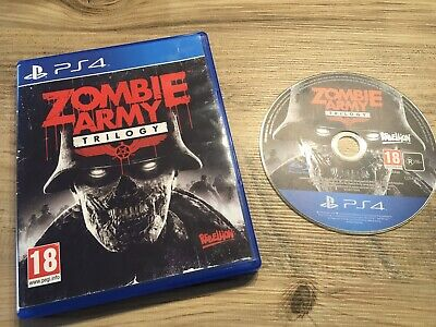 Ps4 Game Zombie Army Trilogy