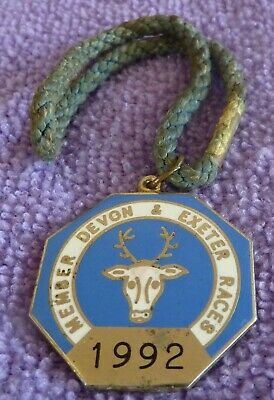 1992 DEVON & EXETER.  Annual Member Badge.