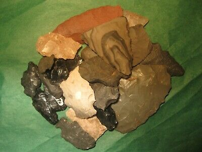 20 Southwest Prehistoric Arrowheads Tools Authentic American Indian Artifacts B8