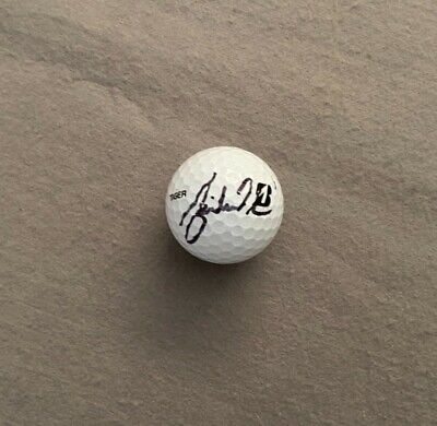 Tiger Woods Signed Golf Ball with Certificate