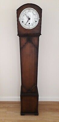 Granddaughter Clock German Movement Westminster Chimes Lovely Condition Working