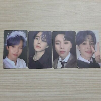 BTS Bangtan Boys MAP OF THE SOUL 7 Version 1, 2, 3, 4 JIMIN Photo Card official