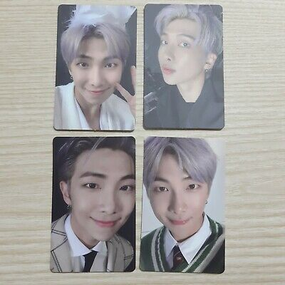 BTS Bangtan Boys MAP OF THE SOUL 7 Version  RM full set Photo Card official