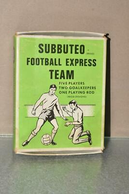1970'S Subbuteo Football Express Team E300 Manchester City Moulded Heavyweights