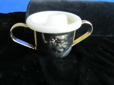 Silver Plate Baby Cup / Sippy Cup.                                          1466