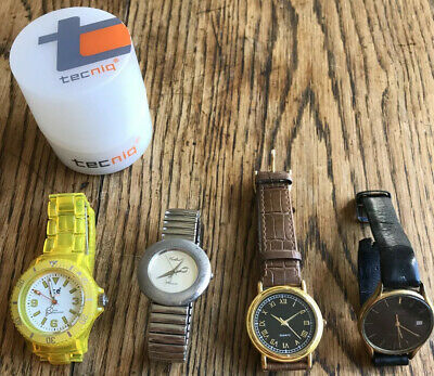 Bundle Of 4 Wrist Watches Montine Ice Watch Etc