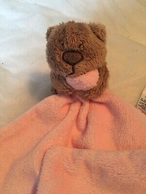 2 x Pink Teddy Comforters From George Asda
