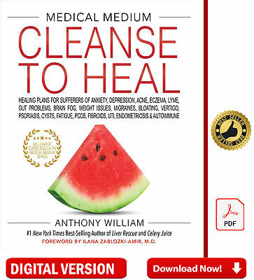 Medical Medium Cleanse to Heal by Anthony William 🔥2020 ✅[P,D.F]✅E-Version