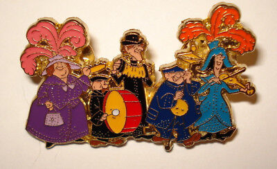 Disney Pin Trading Mary Poppins Commemorative Tin Set Perly Band Pin Only Music