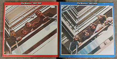 The Beatles - 1962-1966 Red & 1967-1970 Blue LP's - 1973 Sealed w/stickers