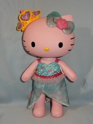 "Blip Hello Kitty Poseable Doll Pink Mermaid 13"" RARE!!"