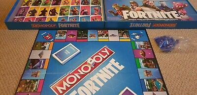 Monopoly Fortnite Game By Hasbro