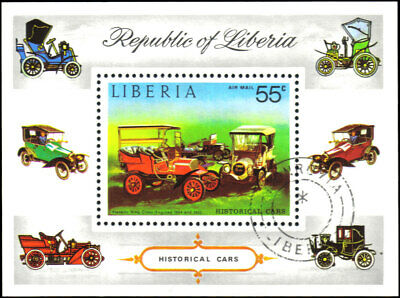 Liberia #C199 Used VF souvenir sheet