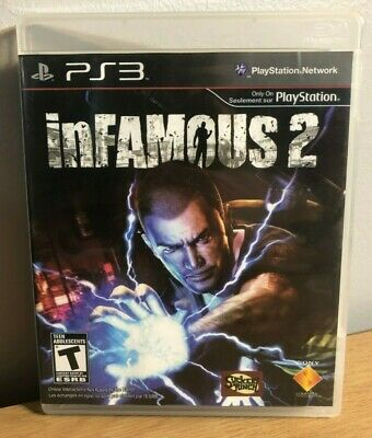 inFamous 2 (Sony PlayStation 3, 2011) PS3