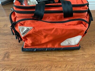 "FERNO 5107 5108 Professional Trauma Bag, ALS Dupont Cordura, Red, 15"" Height"