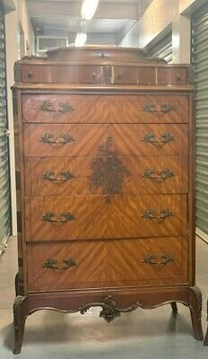 Antique Louis XVI Syle 8-Drawer Dresser
